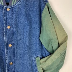Urban Outfitter + BDG Two Tone Denim Jacket